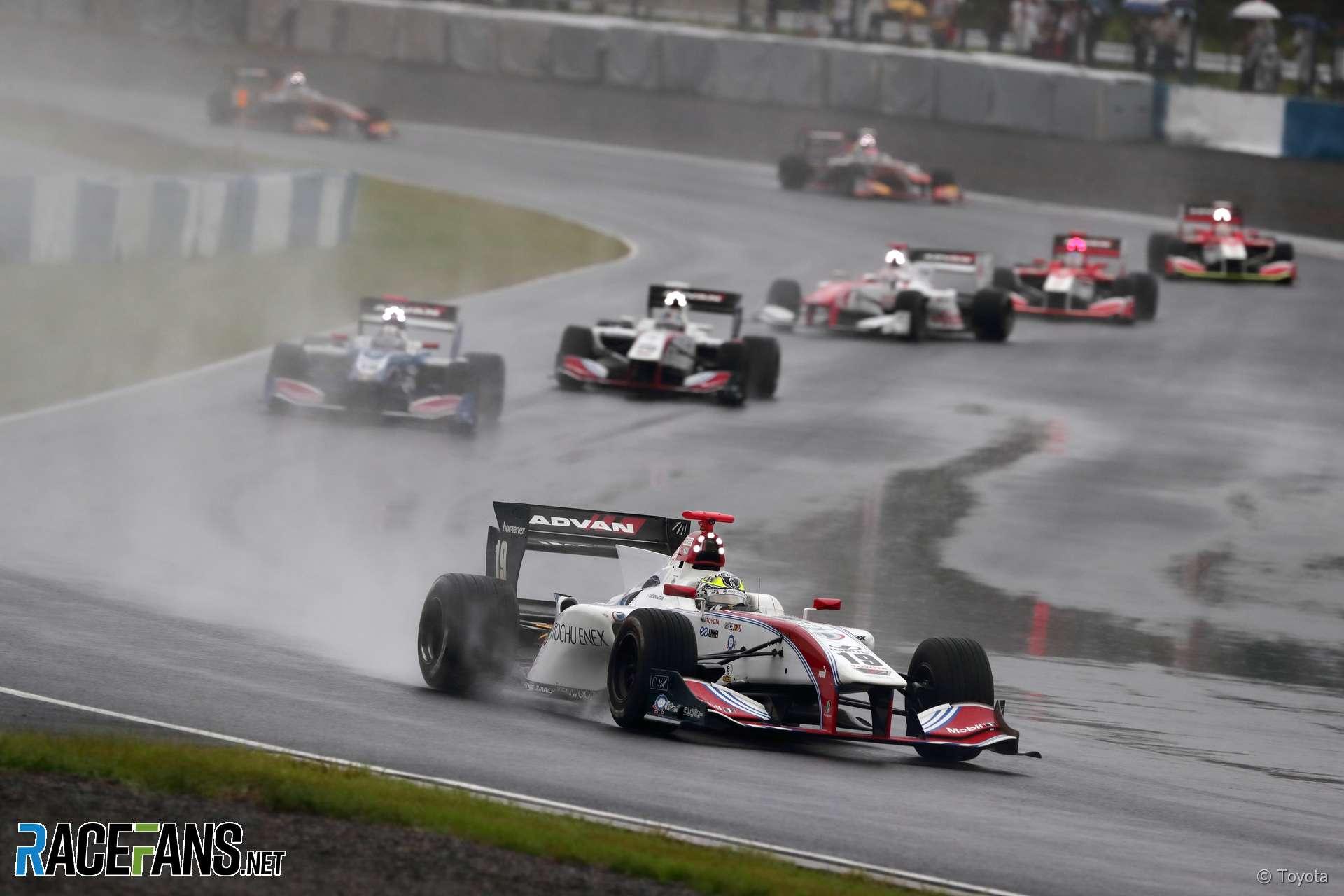 Start, Japanese Super Formula, Okayama, 2018