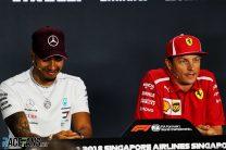Lewis Hamilton, Kimi Raikkonen, Singapore, 2018