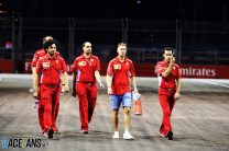 Sebastian Vettel, Ferrari, Singapore, 2018