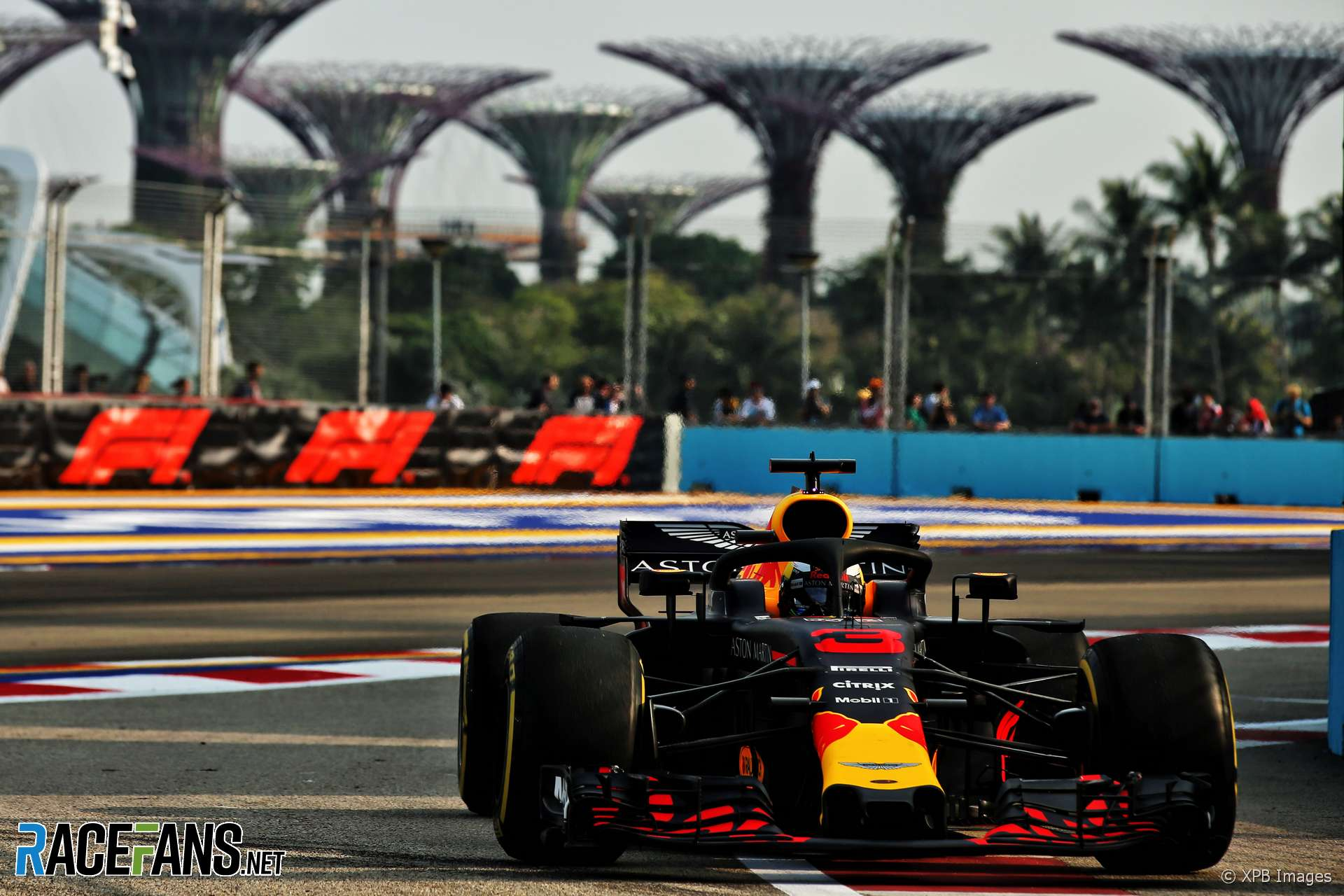 Ricciardo leads Red Bull one-two as Leclerc crashes · RaceFans