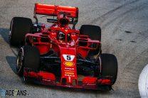 Vettel and Ferrari fastest in final Singapore practice