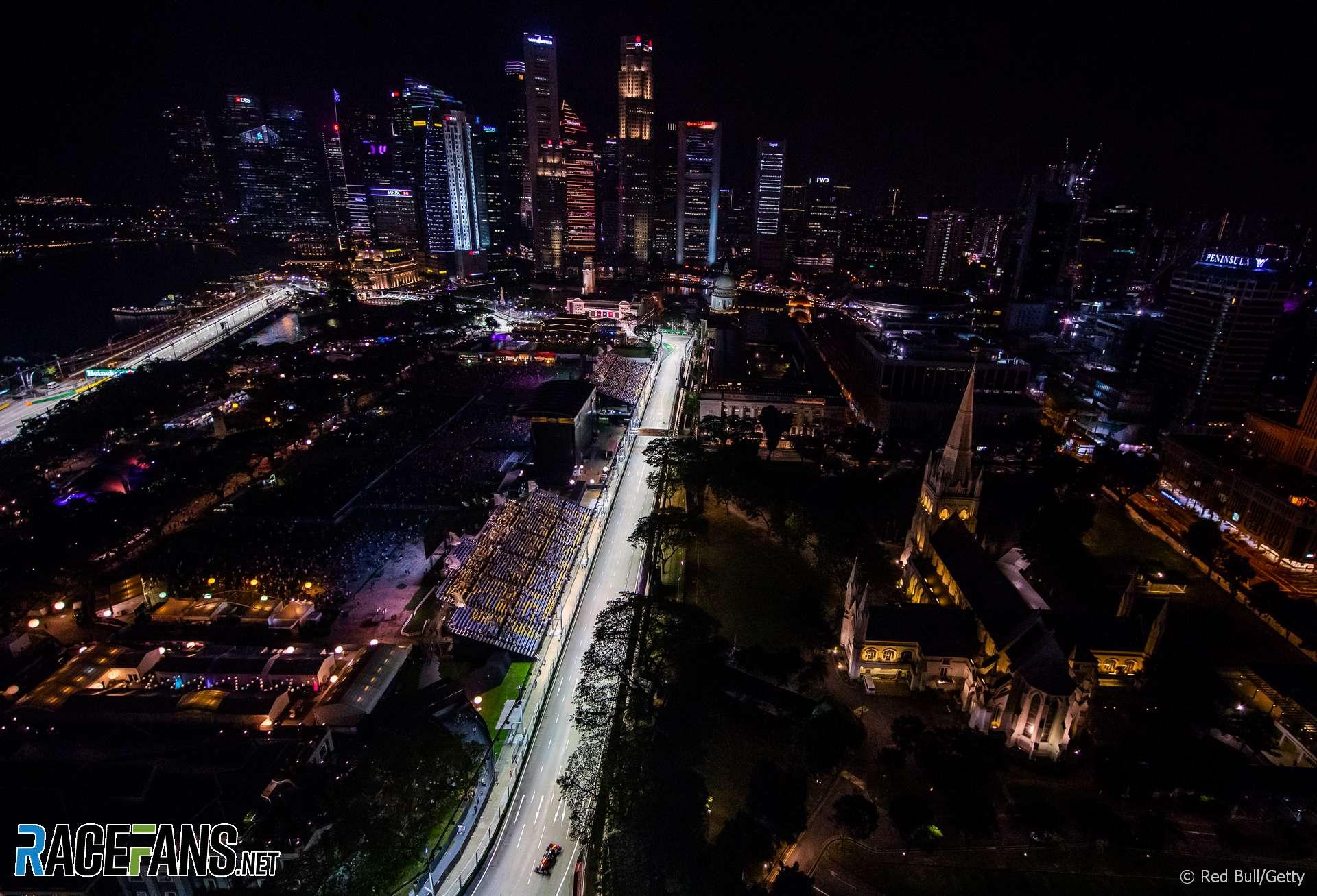 Daniel Ricciardo Red Bull Singapore