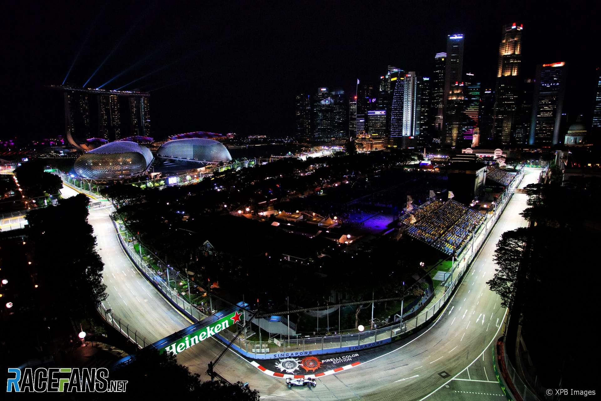 Valtteri Bottas, Mercedes, Singapore, 2018