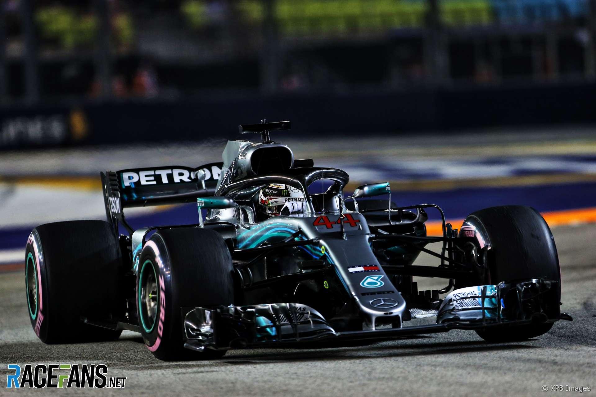 2018 Singapore Grand Prix Grid Racefans