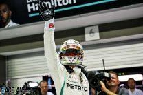 "Wolff broke radio silence to praise Hamilton's ""epic"" lap"