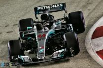 Hamilton extends title lead with Singapore win