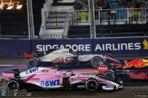 Sergio Perez, Force India, Singapore, 2018