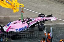 Force India reinstates team orders on Ocon and Perez