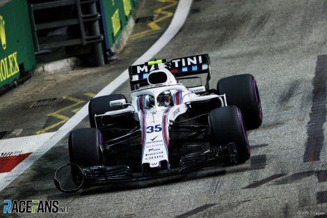 Sergey Sirotkin, Williams, Singapore, 2018