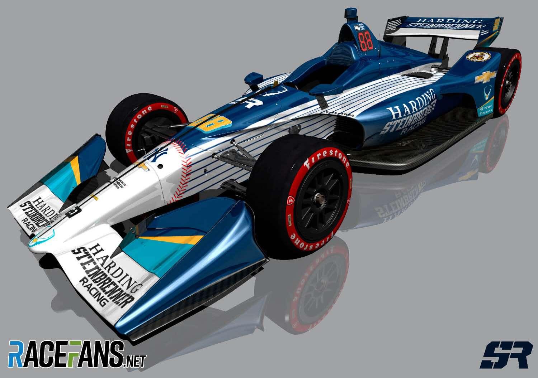 Harding-Steinbrenner 2019 IndyCar rendering
