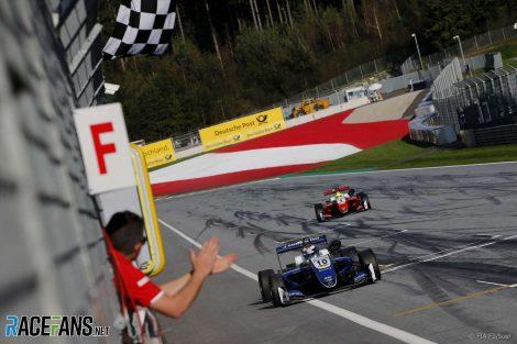 Robert Shwarzman, Mick Schumacher, Red Bull Ring, European Formula Three, 2018