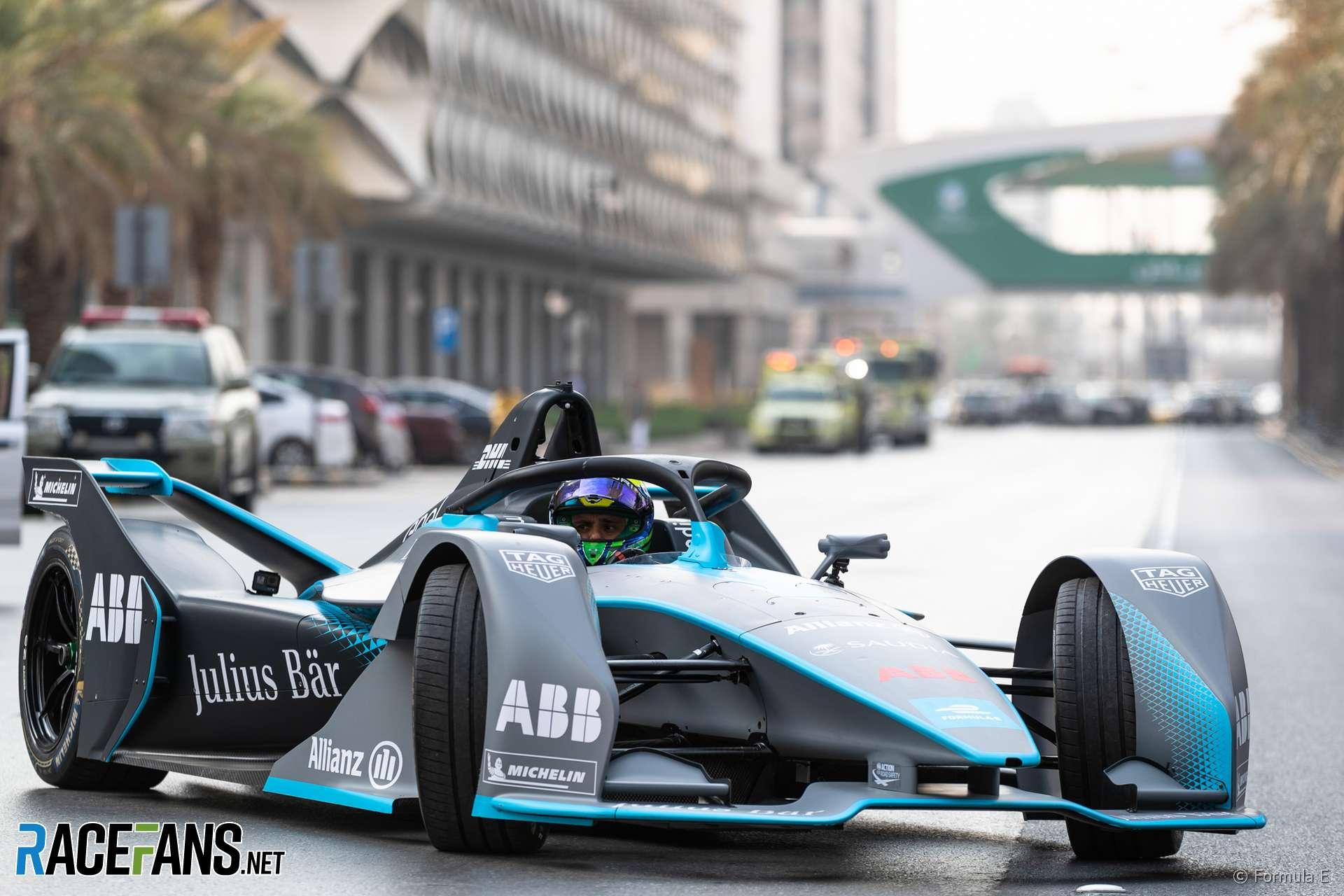 Felipe Ma Formula E Riyadh 2018
