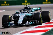 Bottas leads Mercedes front row lock-out in Russia
