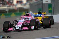 Sergio Perez, Force India, Sochi Autodrom, 2018