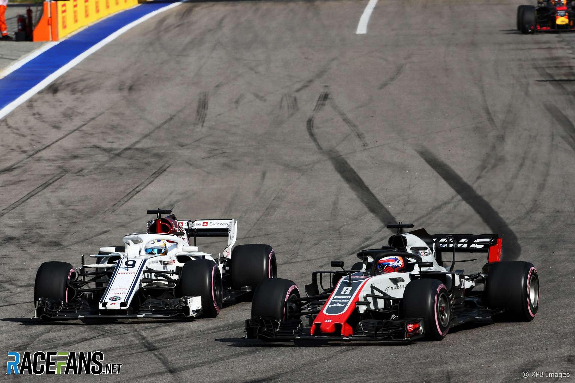 Marcus Ericsson, Sauber, Sochi Autodrom, 2018