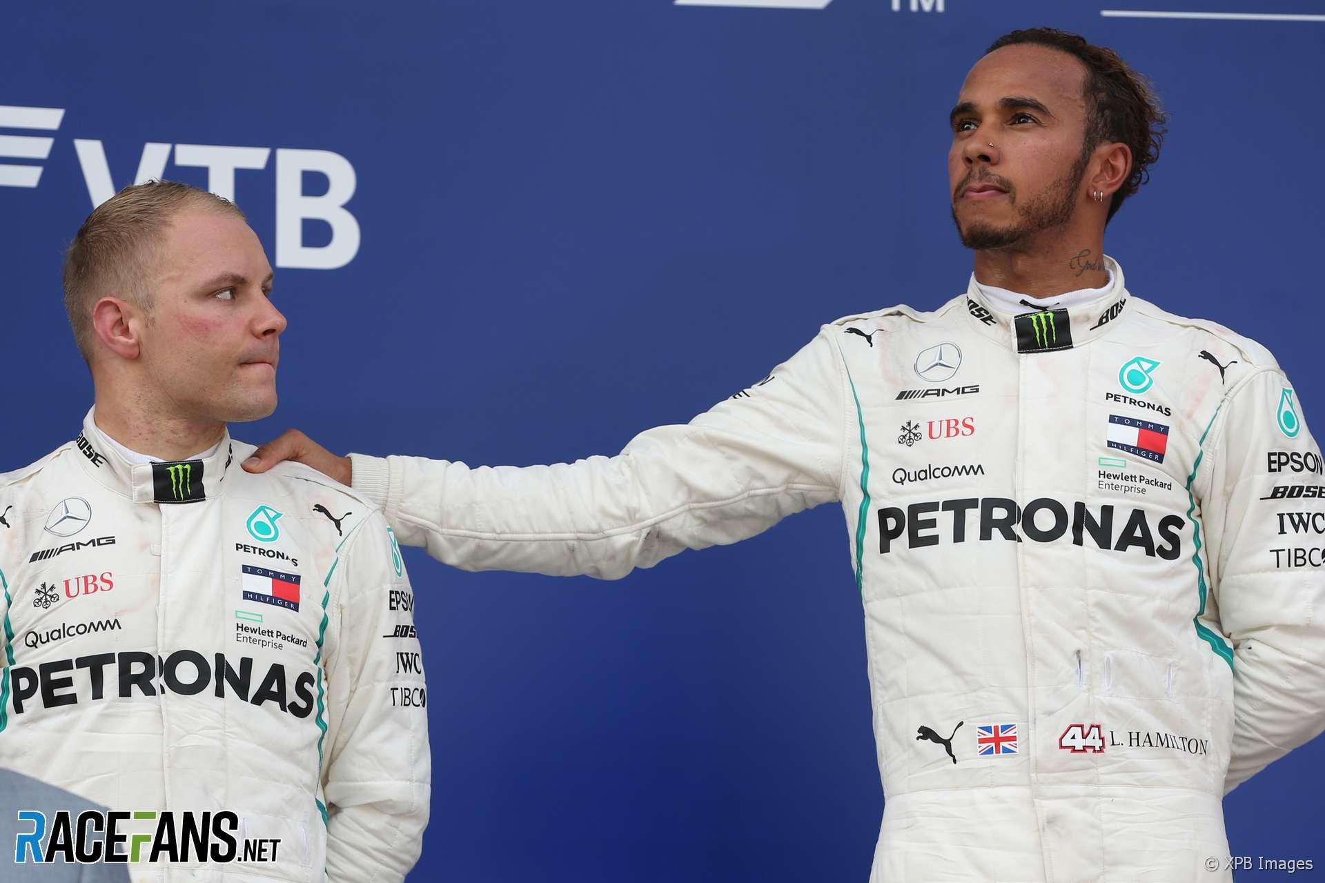 Valtteri Bottas, Lewis Hamilton, Mercedes, Sochi Autodrom, 2018