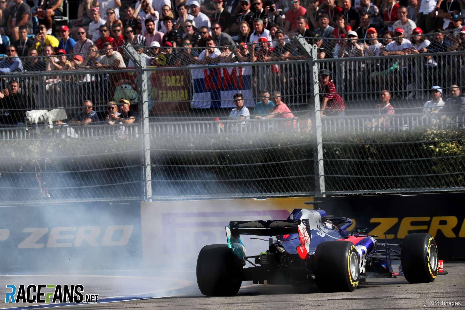 Brendon Hartley, Toro Rosso, Sochi Autodrom, 2018