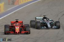 Hamilton: I don't get away with making two moves like Vettel