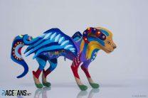 Sergey Sirotkin: White stallion, dog and lion