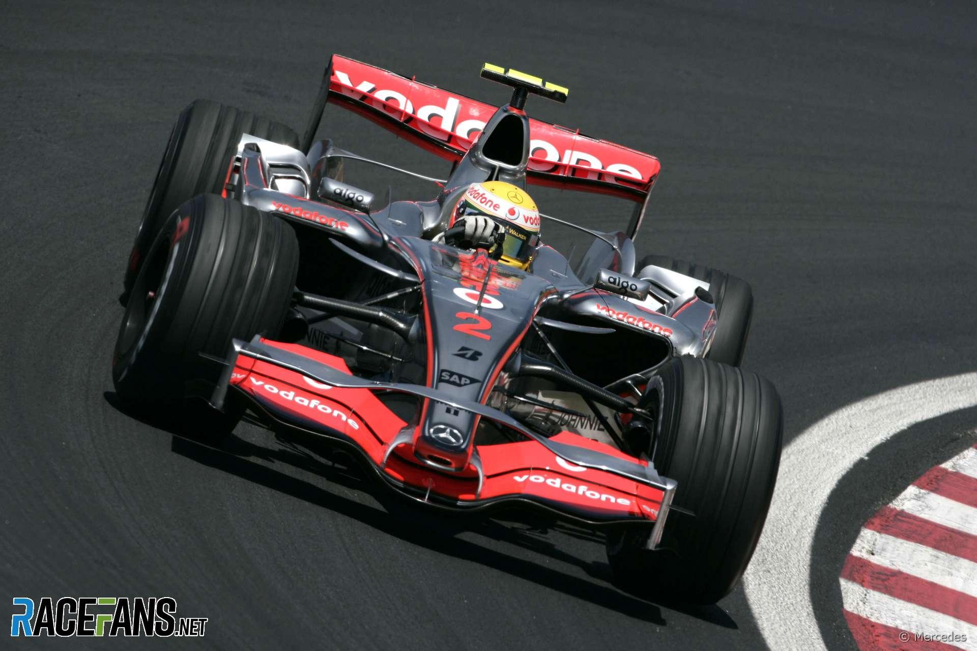Lewis Hamilton, McLaren, Interlagos, 2007