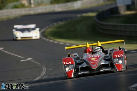 Allan McNish, Audi R10 TDI, Le Mans, 2008