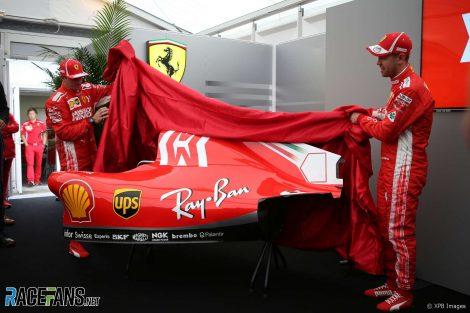 Ferrari Mission Winnow livery revealing, Suzuka, 2018