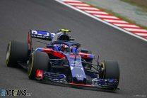 Toro Rosso having best weekend of 2018 at Honda's home race