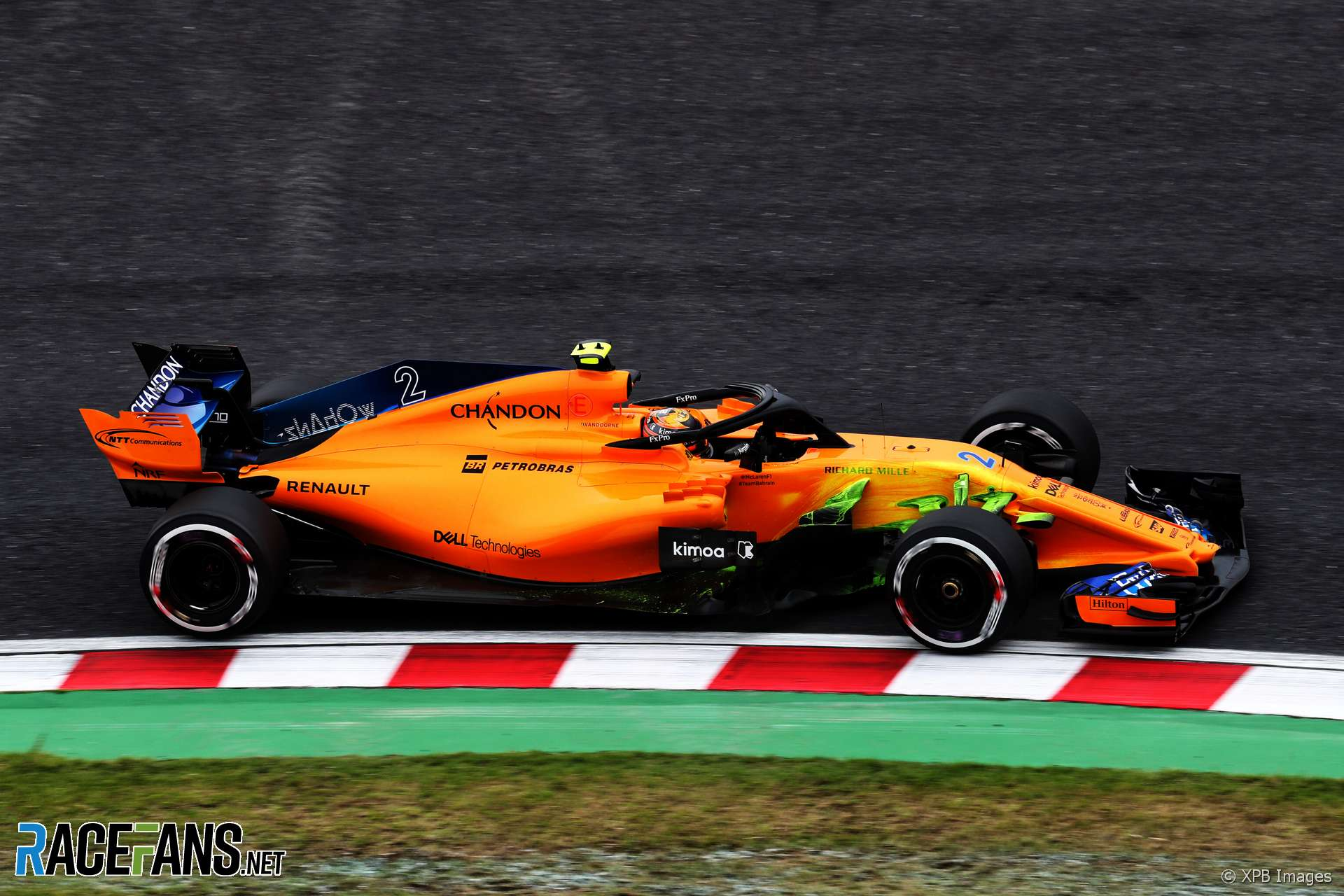 Stoffel Vandoorne, McLaren, Suzuka, 2018