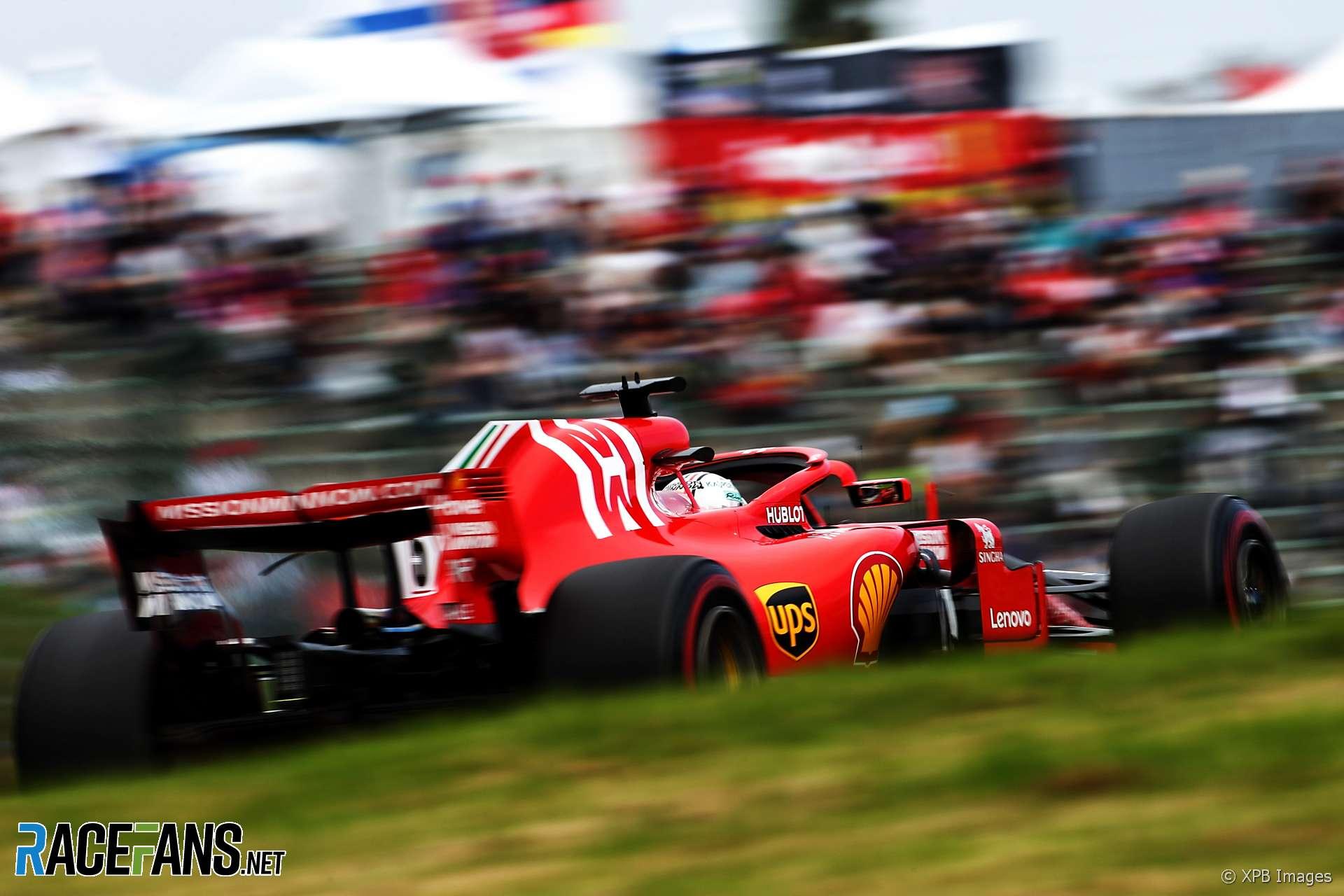 Sebastian Vettel, Ferrari, Suzuka, 2018