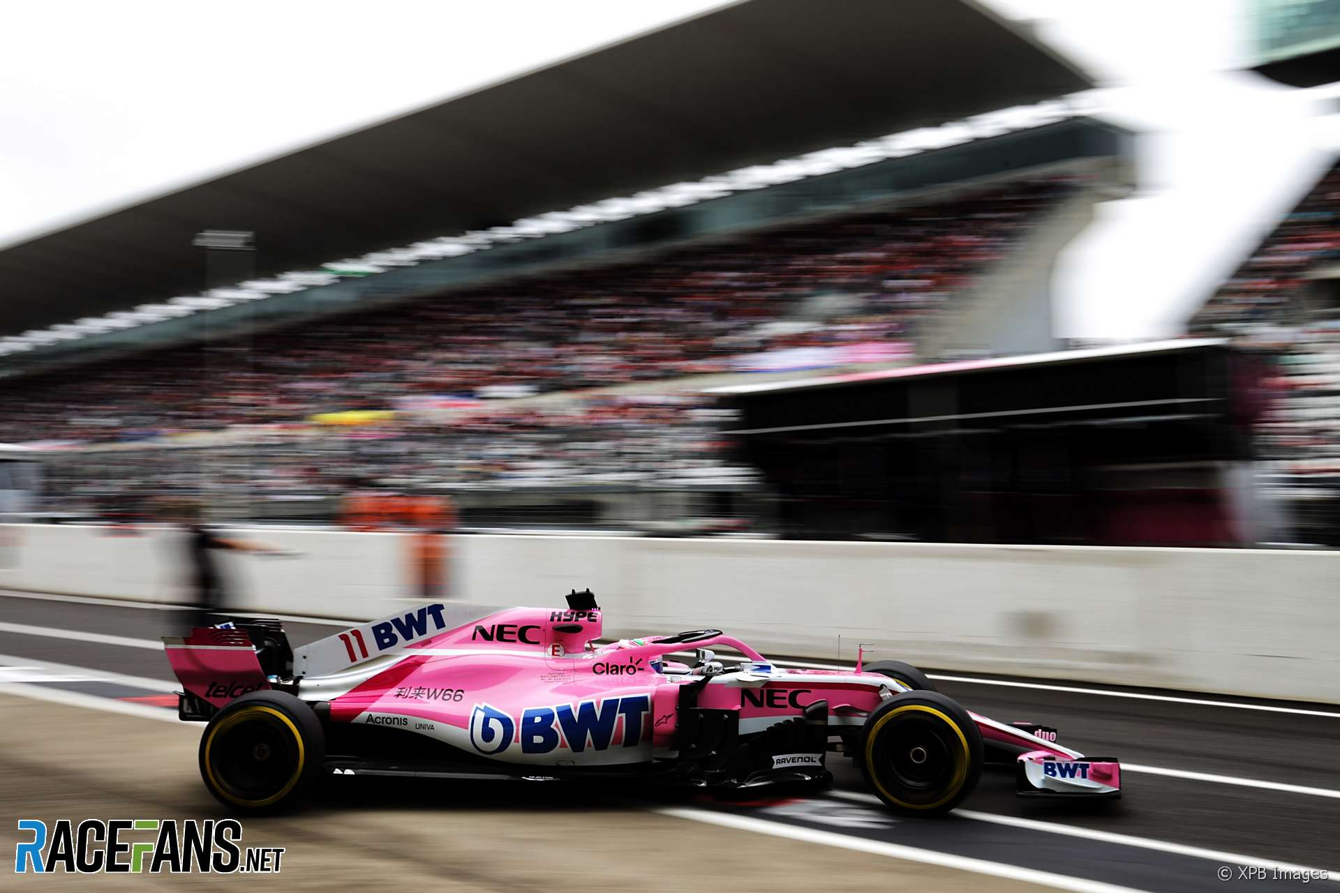Sergio Perez, Force India, Suzuka, 2018