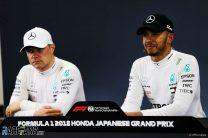 Valtteri Bottas, Lewis Hamilton, Mercedes, Suzuka, 2018