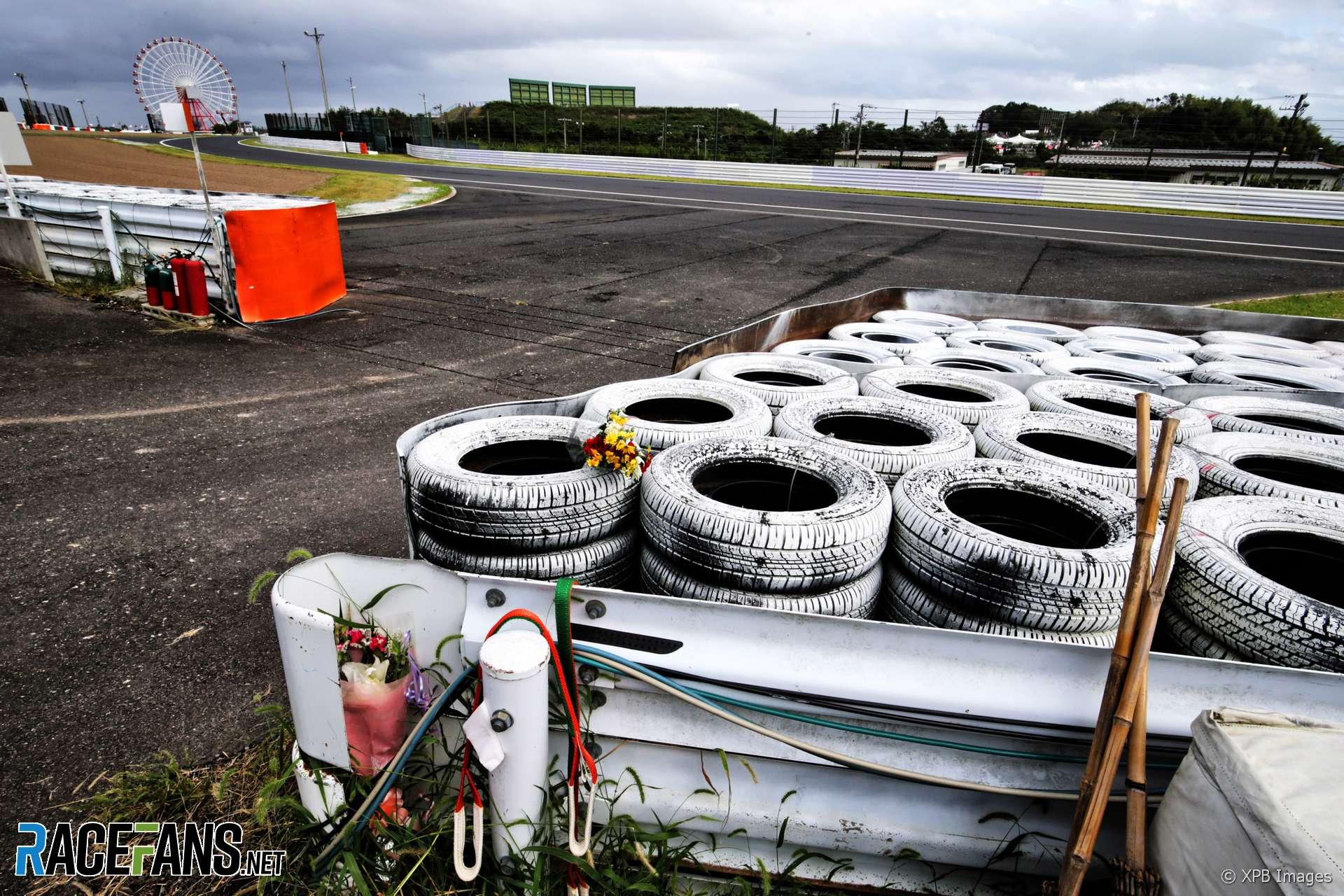 Tribute to Jules Bianchi, Suzuka, 2018