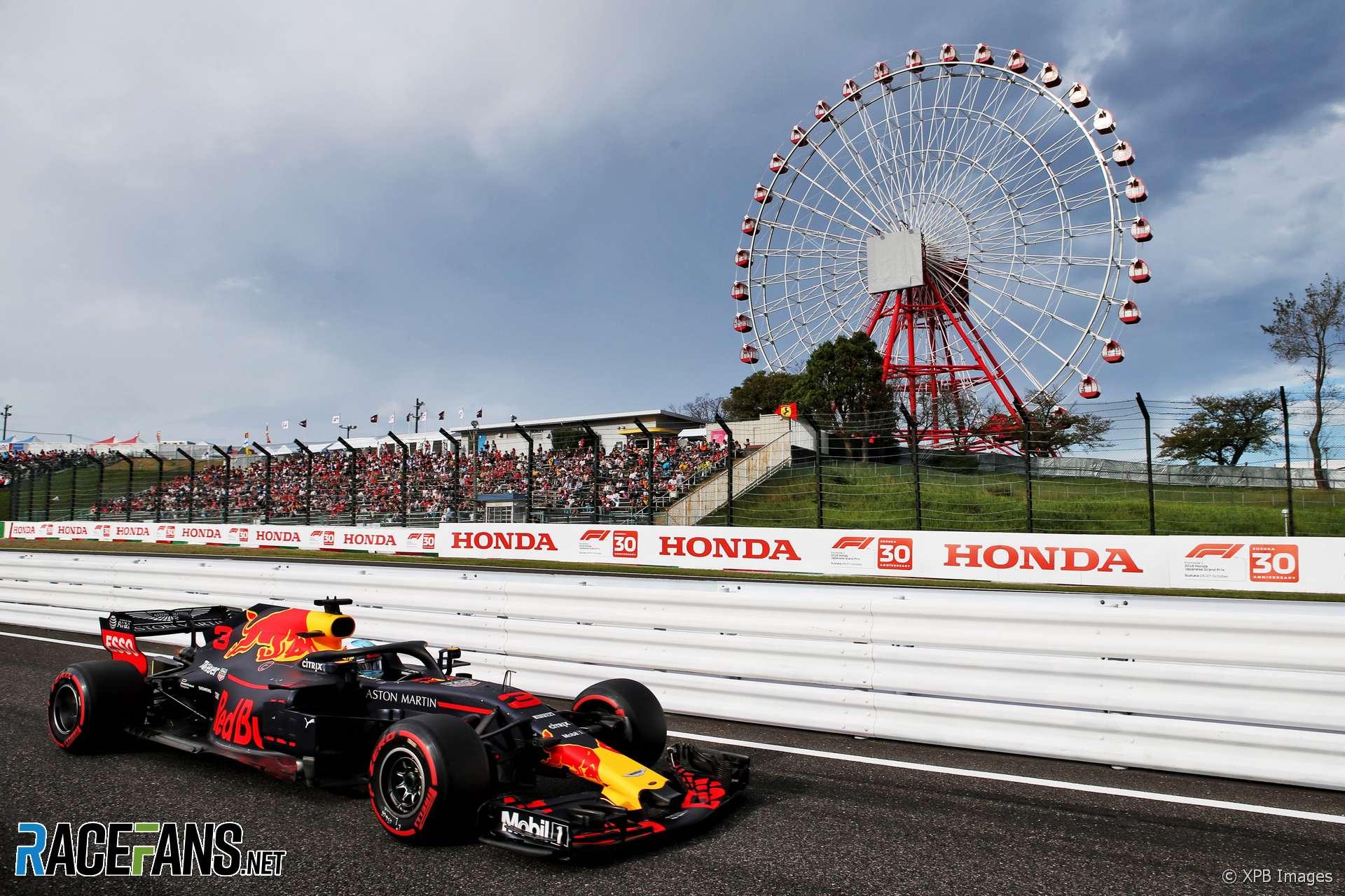 Daniel Ricciardo, Red Bull, Suzuka, 2018