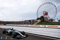 Valtteri Bottas, Mercedes, Suzuka, 2018