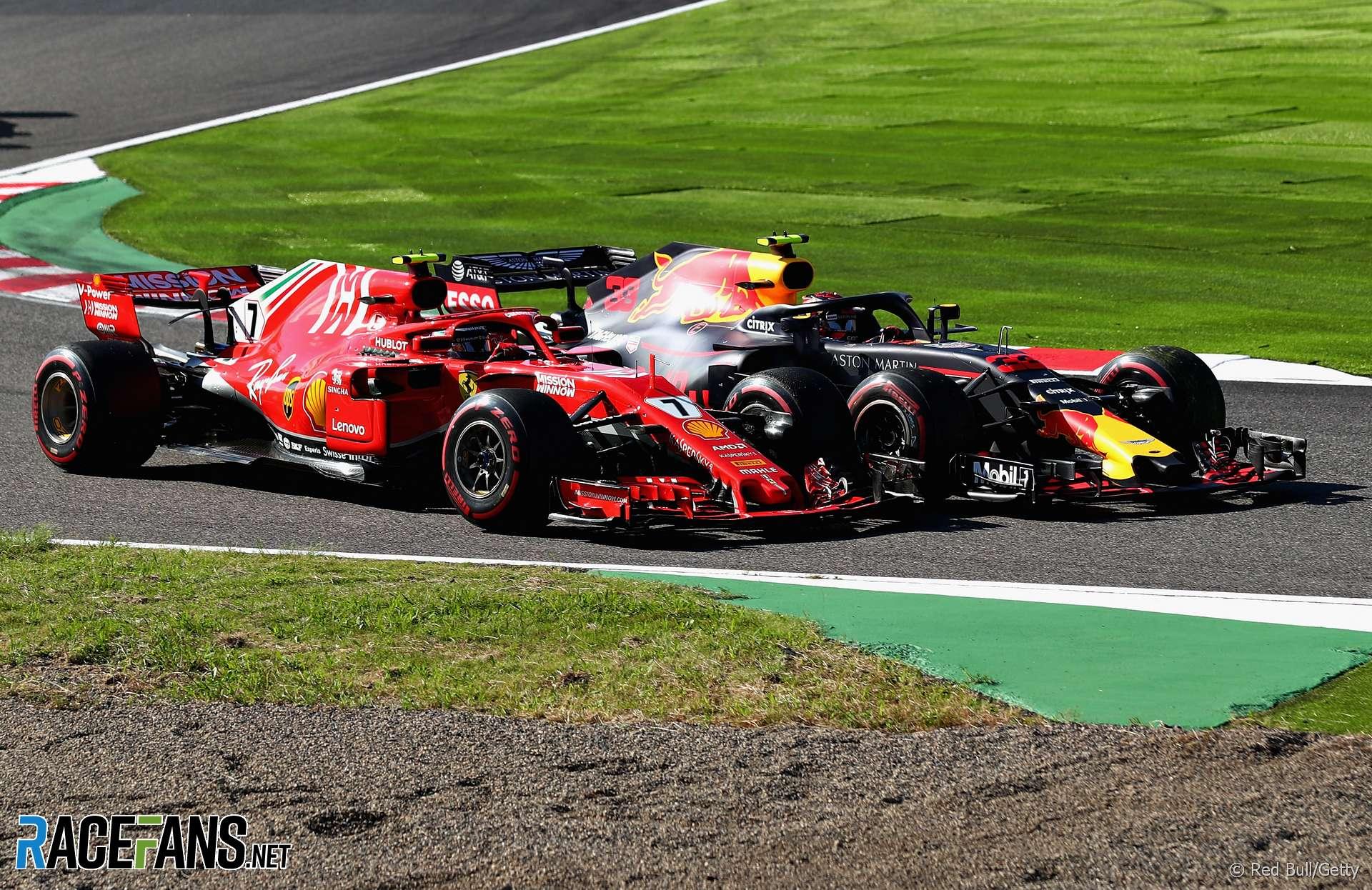 Kimi Raikkonen, Max Verstappen, Suzuka, 2018