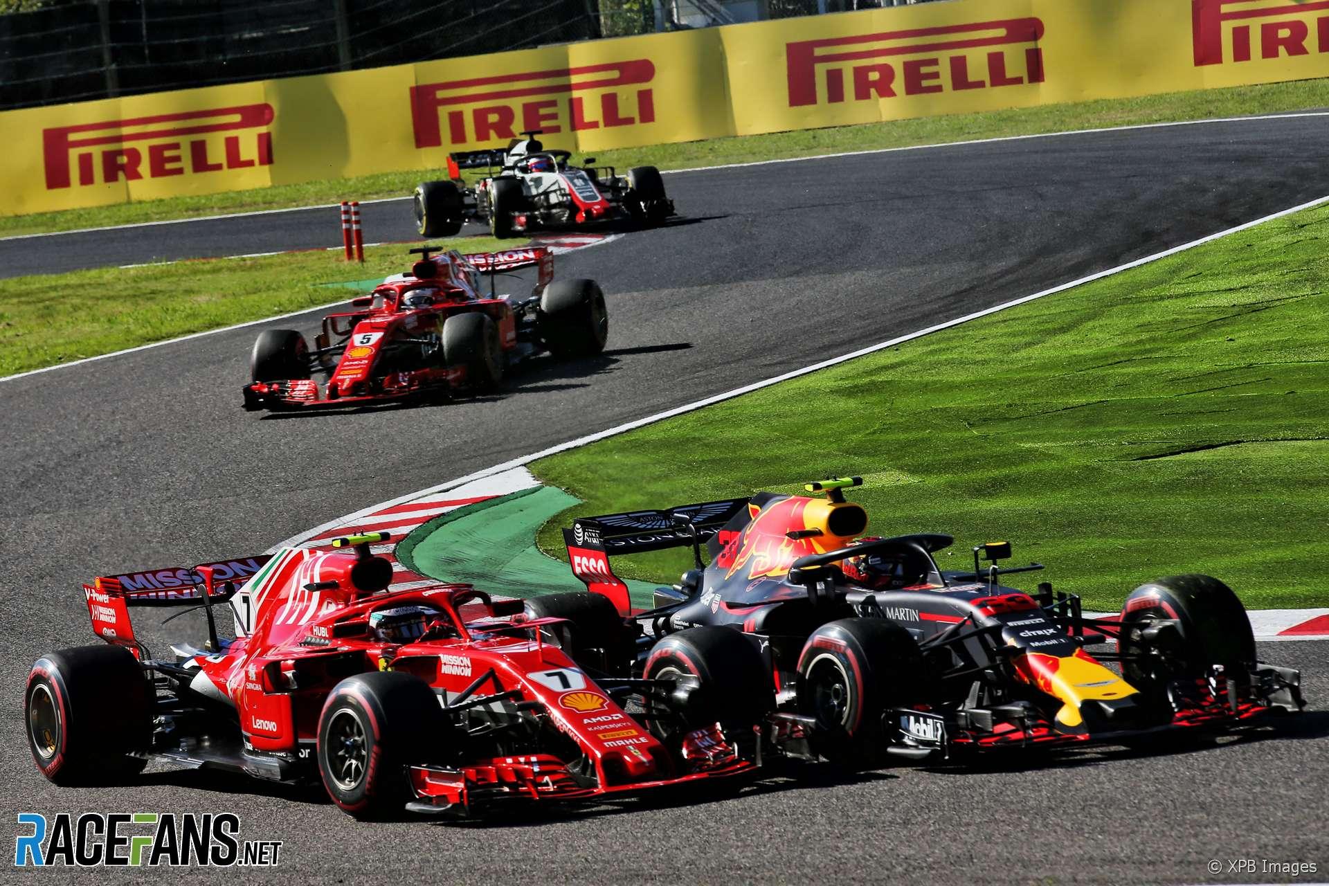 Max Verstappen, Red Bull, Suzuka, 2018