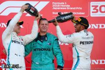 Mercedes take first back-to-back one-twos since 2016