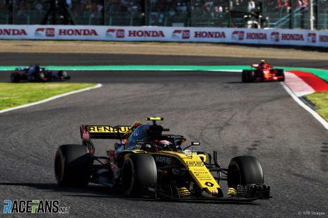 Carlos Sainz Jnr, Renault, Suzuka, 2018
