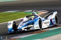 Alexander Sims, BMW, Formula E testing, Valencia, 2018