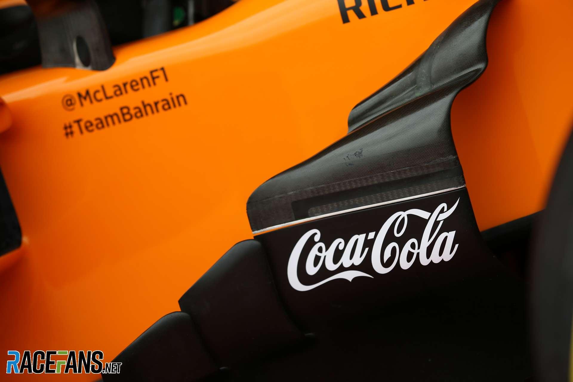 McLaren announce Coca-Cola sponsorship deal · RaceFans