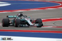Hamilton on pole after Ferrari battle in Austin