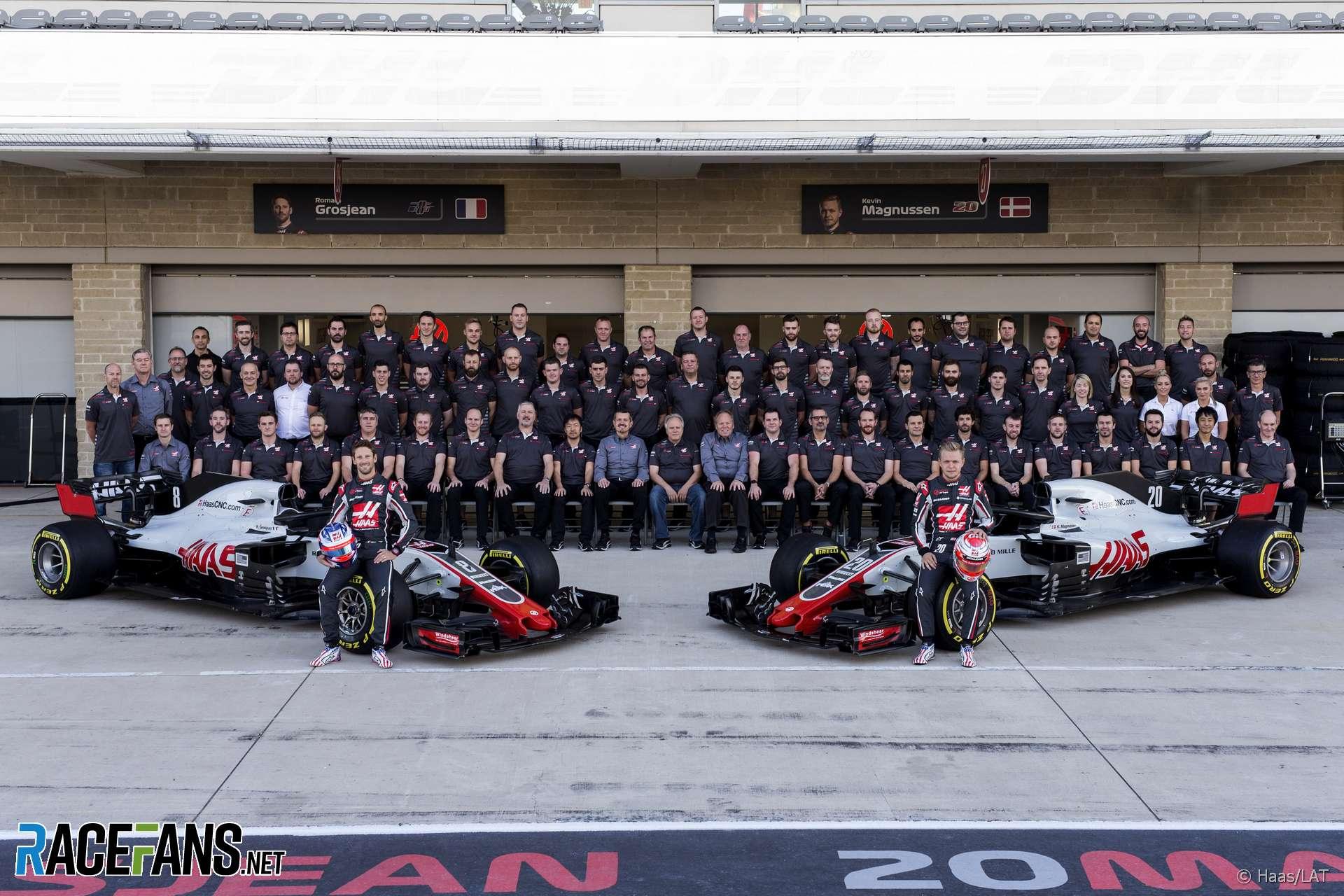 Haas Formula 1 Team Information Racefans