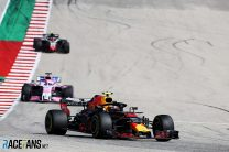 Max Verstappen, Red Bull, Circuit of the Americas, 2018