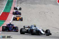 Sergey Sirotkin, Williams, Circuit of the Americas, 2018