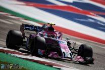 Esteban Ocon, Force India, Circuit of the Americas, 2018