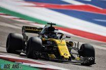 Nico Hulkenberg, Renault, Circuit of the Americas, 2018