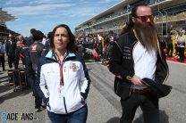 Claire Williams, Rich Storey, Circuit of the Americas, 2018