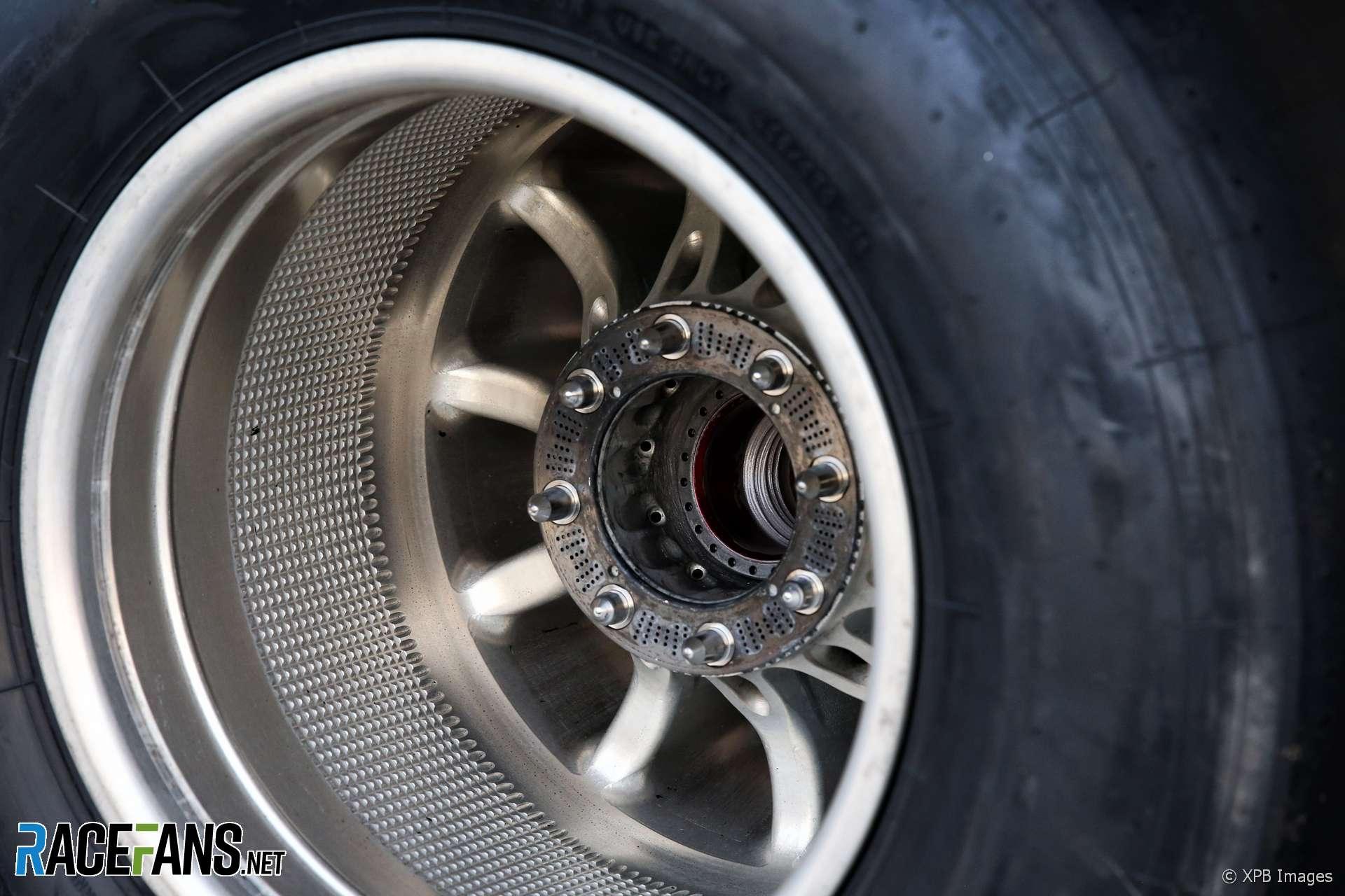 Mercedes W09 wheel, Autodromo Hermanos Rodriguez, 2018