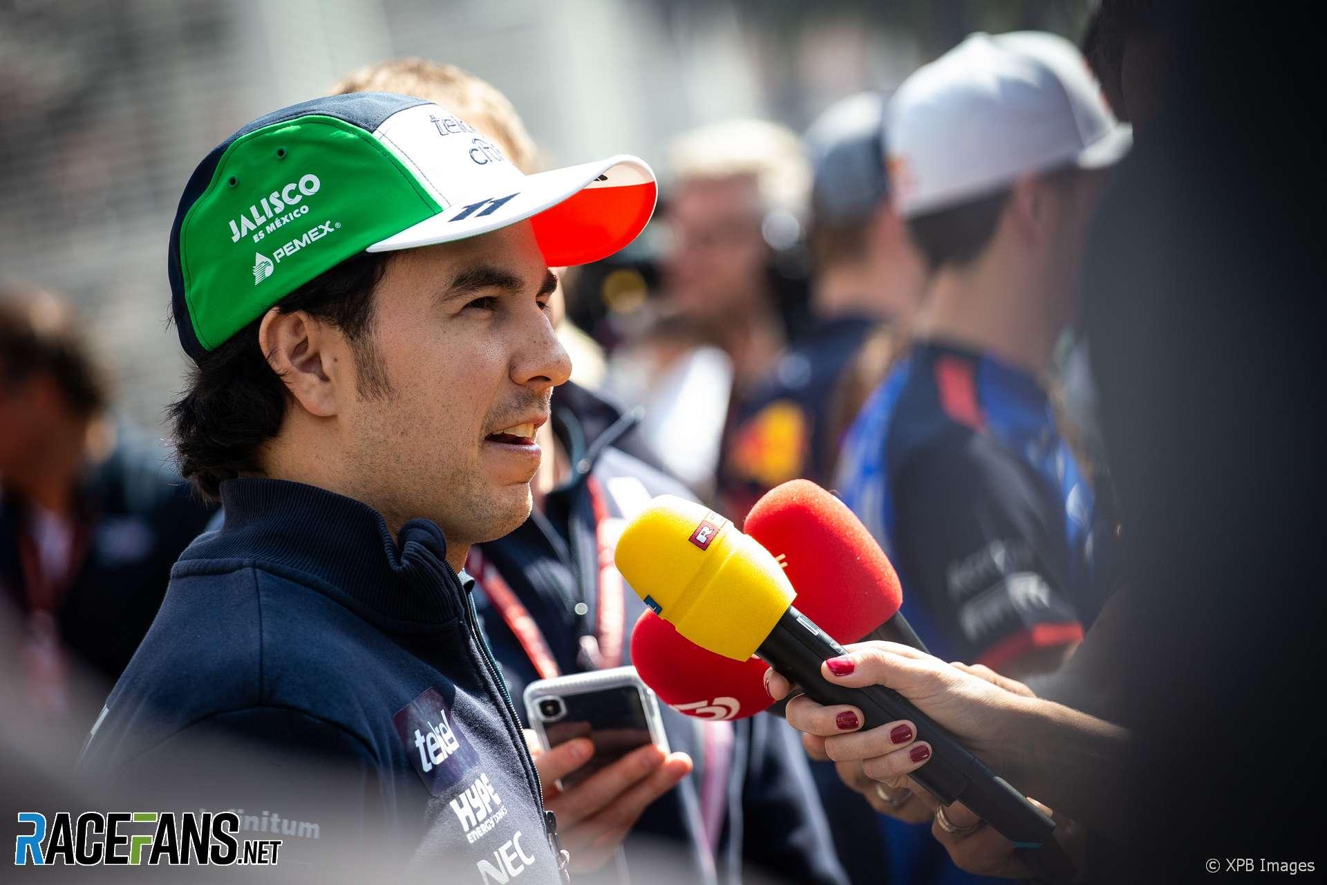 Sergio Perez, Force India, Autodromo Hermanos Rodriguez, 2018