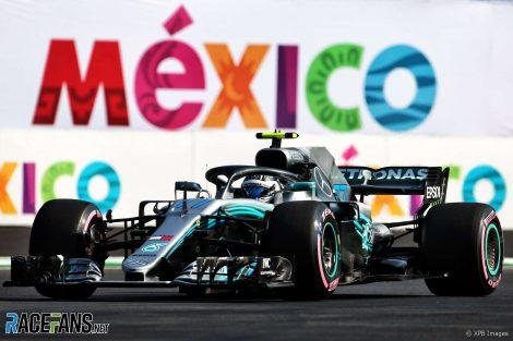Valtteri Bottas, Mercedes, Autodromo Hermanos Rodriguez, 2018